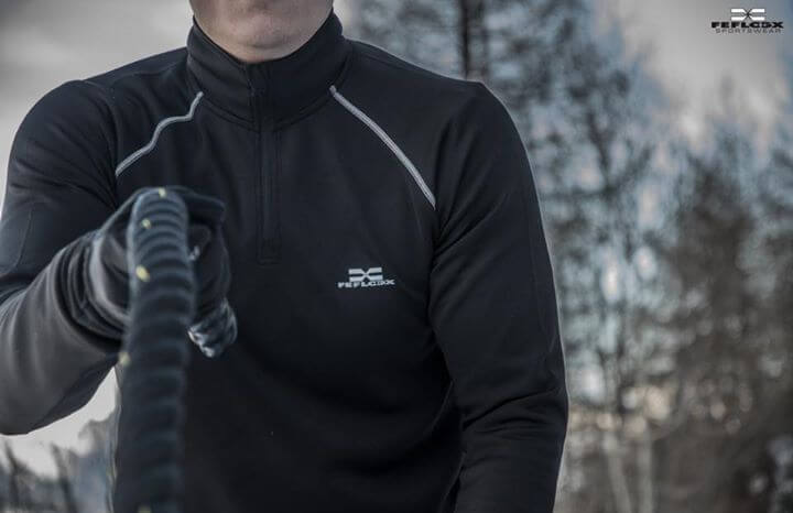 FEFLOGX Longsleeve Pure in der Schweiz Battle-Rope, Nahaufnahme.