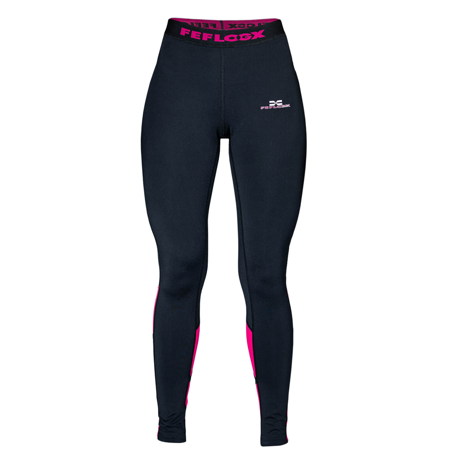 FEFLOGX Sportswear Damen Leggings Motion, Ghost-Foto (1).