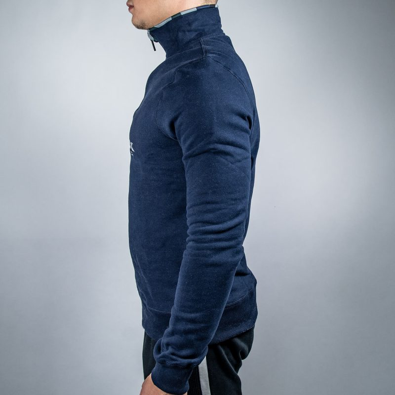 FEFLOGX Sportswear 1/4-Zip-Sweater, Links.